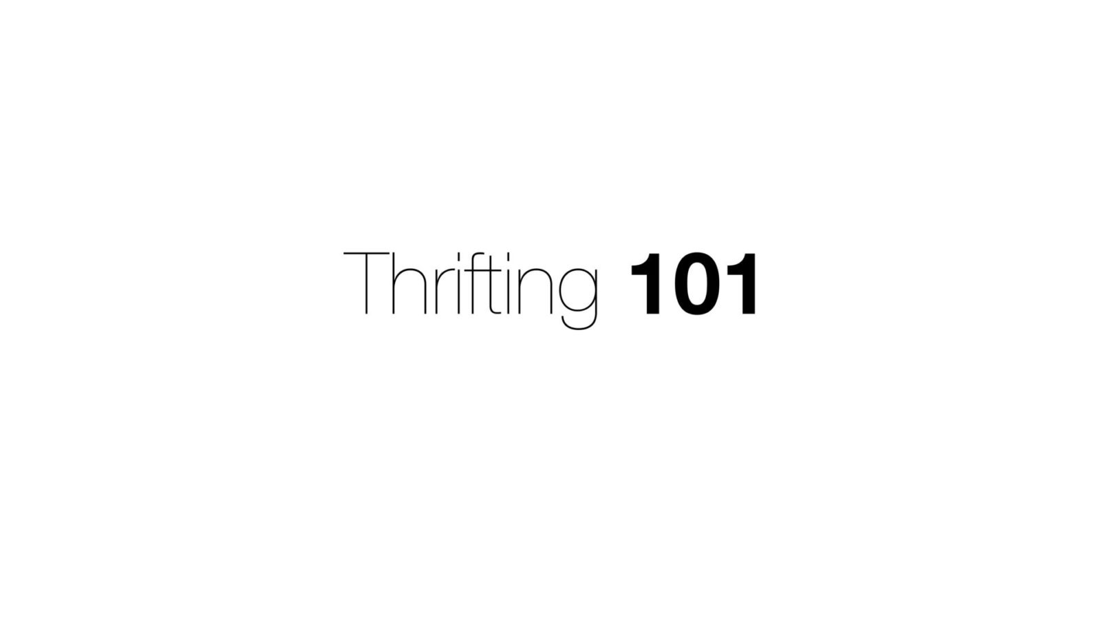 5 Tips| How to Start Thrifting Effectively